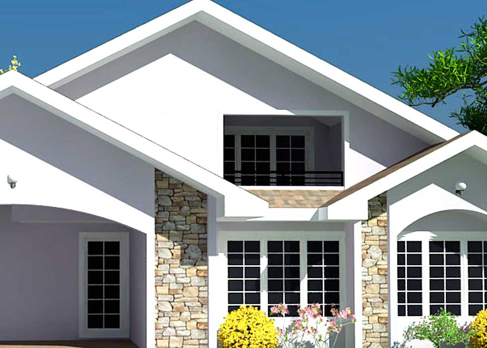 Low cost house plans for ghana liberia and all african for Low cost home design