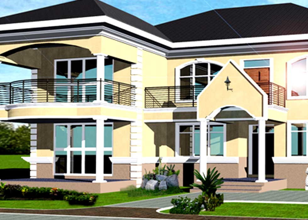 Luxury house plans in ghana for Luxury house plans online