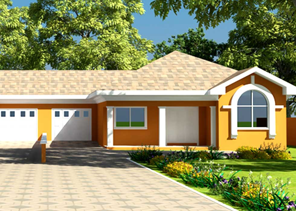 Modern house floor plans for ghana uganda cameroon more for House plans in ghana