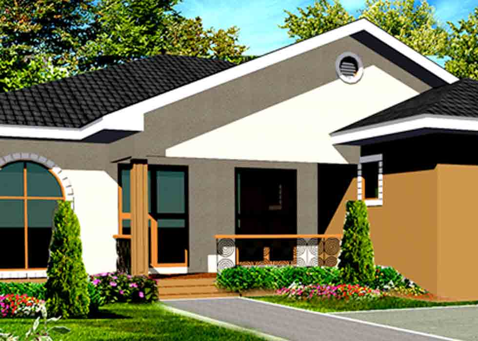 Small Home Floor Plans for Ghana, Liberia, Nigeria, Cameroon