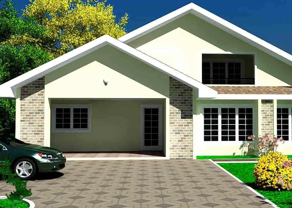 How much will it cost to build a 3 bedroom house in ghana for Cost of building a 3 bedroom house