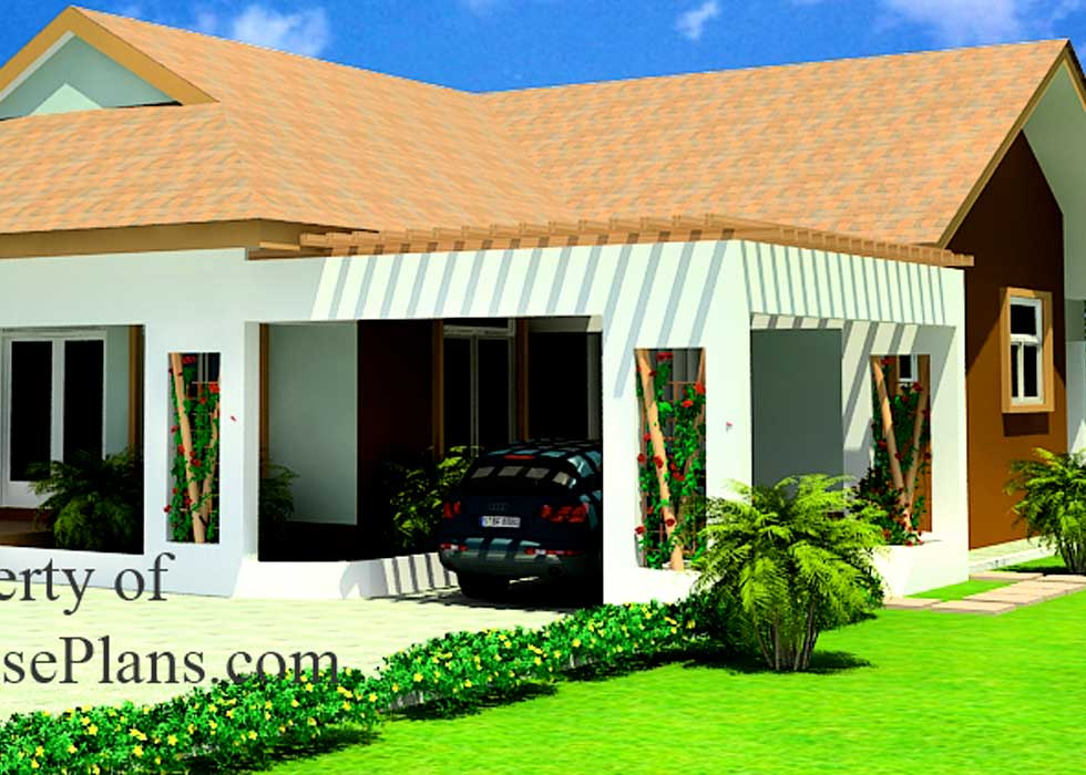 Two Bedrooms House Plan