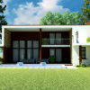 Nii Kwei 5 bedroom house plan for ghana and africa front